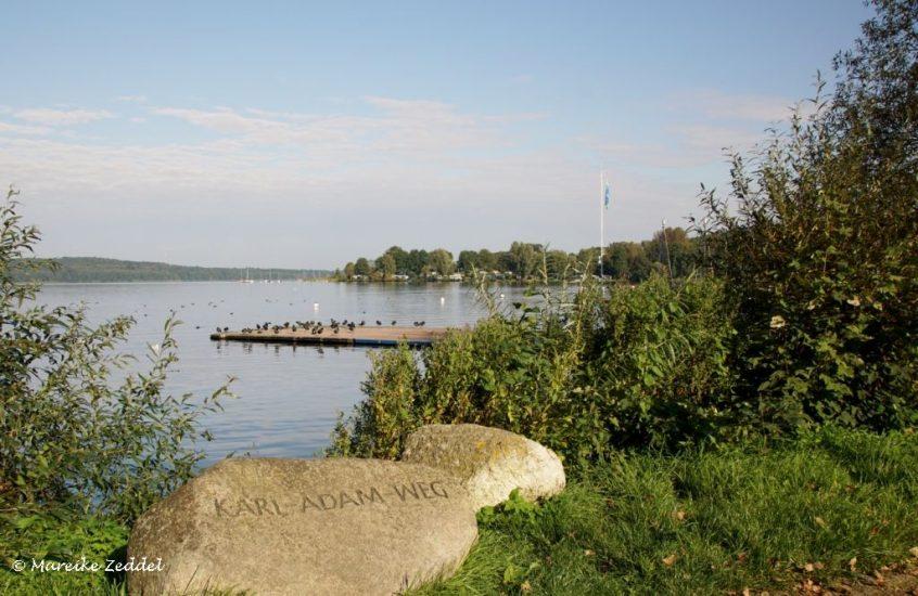 Ratzeburg am Seeufer im Karl-Adam-Weg
