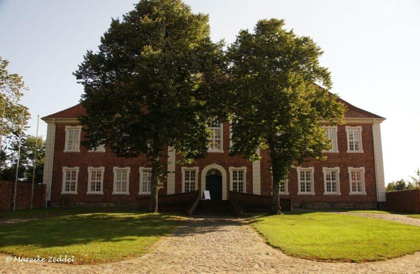 Blick auf Haupteingang Kreismuseum in Ratzeburg