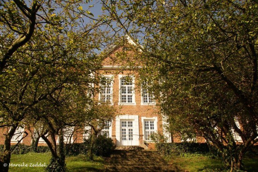 Blick vom Garten auf Kreismuseum Herzogtum Lauenburg in Ratzeburg