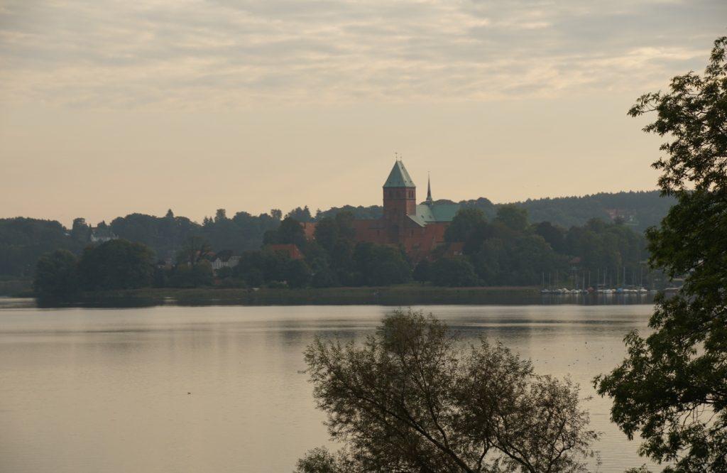 Blick auf Inselstadt Ratzeburg mit Dom