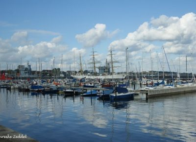 Segelboote in Kiel
